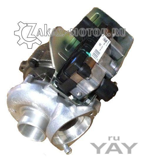 Турбина garrett bmw e46 2,0 дизель 731877-0009