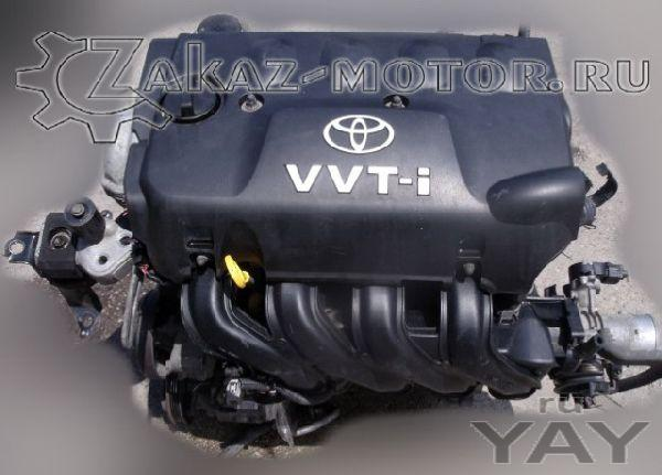 Двигатель бу 1,3л бензин 2nz-fe toyota yaris