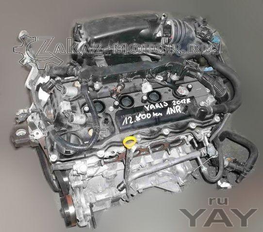 Двигатель бу 1nr-fe toyota yaris 1,3л бензин