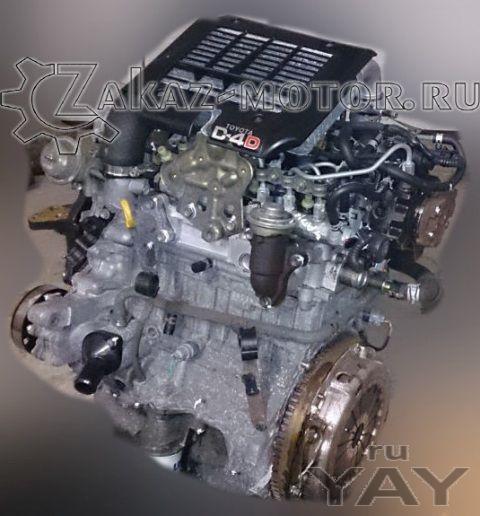 Двигатель бу тойота ярис 1,4л турбодизель 1nd-tv toyota yaris