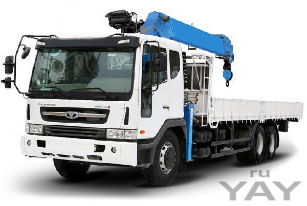 Запчасти на грузовики daewoo novus